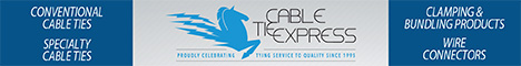 Cable Tie Express Banner Ad